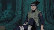 Iruka surpreso com Naruto
