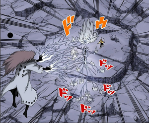 Arte Sabio Despacho de Relámpagos de Elemento Yin Manga