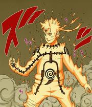 Chakra Amarelo de Naruto