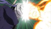 Naruto ataca Tobi