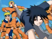 Sasuke luta contra Naruto