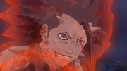 Sora tras descubrir el verdadero poder de su interior