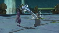 Liberação de Água - Técnica do Projétil do Dragão de Água (Yagura - Game)