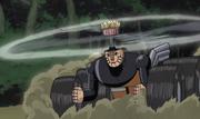 Mecha-Naruto no modo veículo