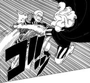 Naruto defende de Delta