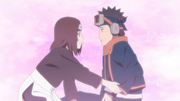 Obito se reúne con Rin en el más allá