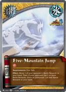 Salto de las Cinco Montañas