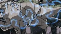 Hinata restringe a Quimera