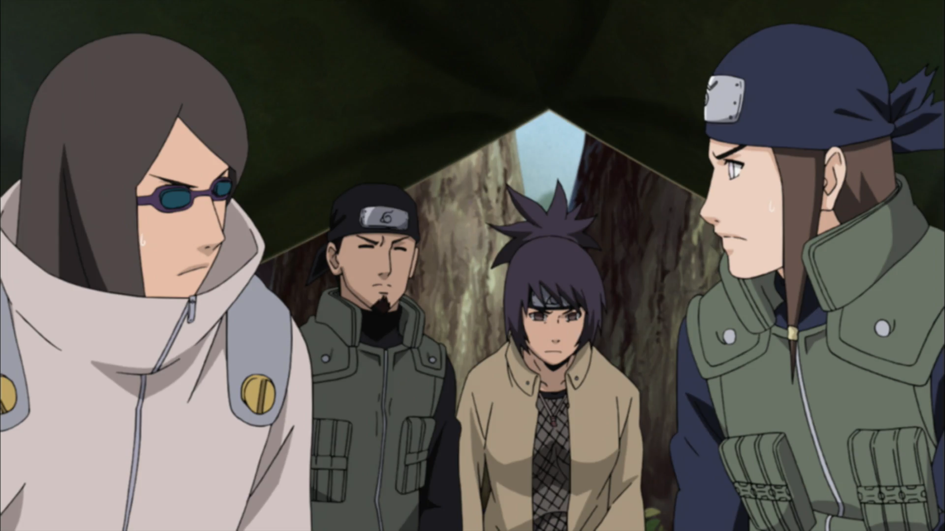 infiltration and reconnaissance party narutopedia