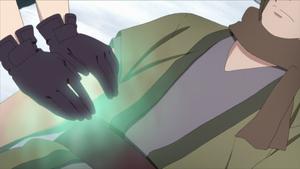 Jutsu Palma Mística Anime