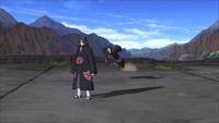 Liberação de Terra - Técnica de Esconder-se Como uma Toupeira (Orochimaru - Game)