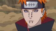 Protector rasguñado de Pain de Amegakure