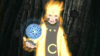 Arte Sabio Rasengan de Elemento Imán Anime 1