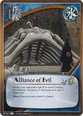 TCG Alianza del mal