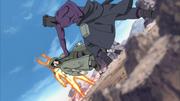 Torune tenta acertar um golpe em Shino
