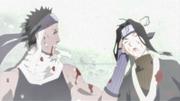 Zabuza e Haku morte