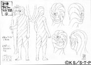 Arte Pierrot - Obito Uchiha & Guruguru