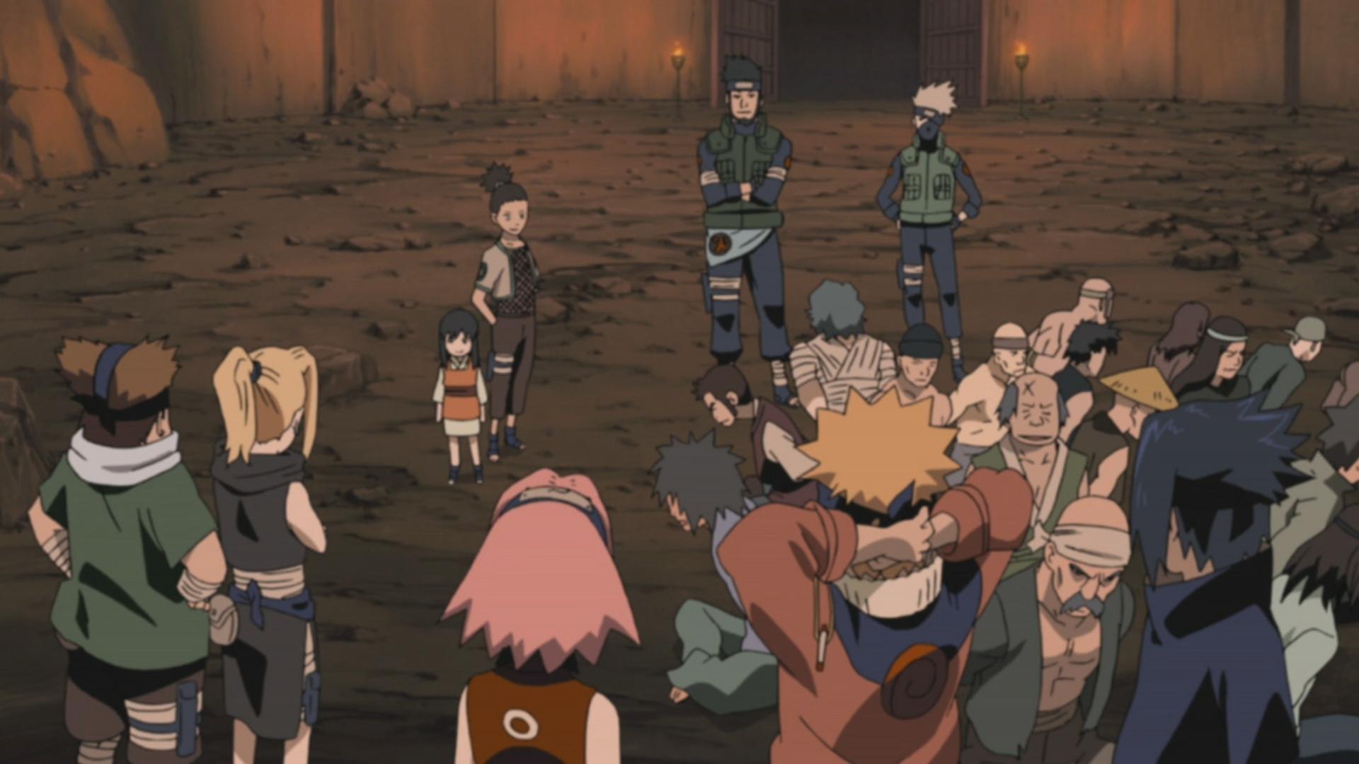 Team 10s Teamwork Narutopedia Fandom Powered By Wikia