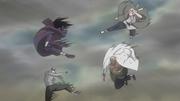 A y Tsunade atacan