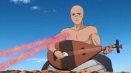 Hōichi usando Fuinjutsu
