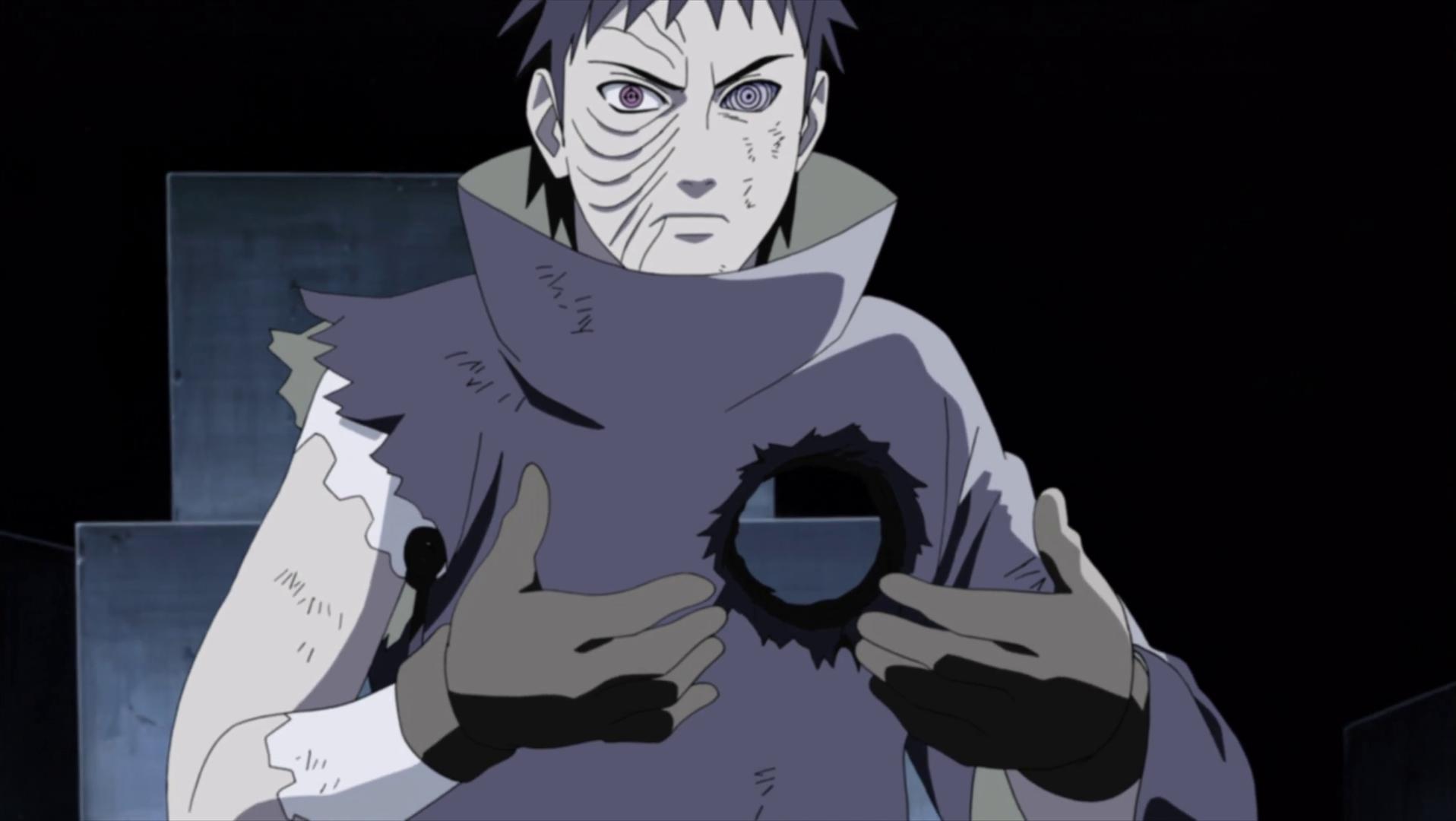 Obito menunjukkan Kakashi betapa hampanya dunia yang telah meninggalkannya