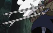 Kiba com Tsuna (Espadas)