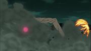 Kurama y Gyūki son golpeados por el Diez Colas