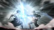 Naruto y Sasuke Chocan