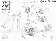 Arte Pierrot - Nagato Reencarnado