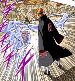 Elemento Rayo Bestia de Rayo Rastreo de Colmillo Manga