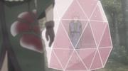 Guren encerrando a Yukimaru para defenderlo