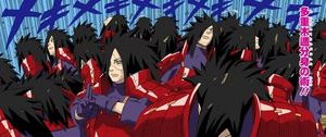 Jutsu Múltiples Clones de Elemento Madera Manga