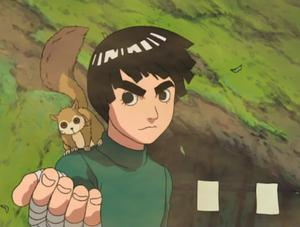 Lee Appears To Help Sakura