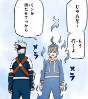 Obito habla con Kakashi por última vez