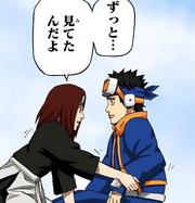 Rin se reúne con Obito en el más allá