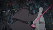 Sasuke battles Urashiki