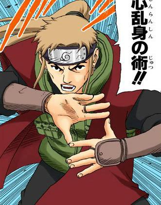 Jutsu Destrucción de Mentes Manga