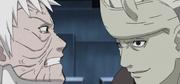 Madara le declara a Obito que recuperará su Rinnegan