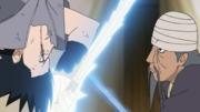 Mifune and Sasuke clash