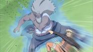 Naruto acerta o Raikage