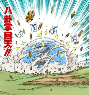 Ocho Trigramas Palma de Retorno al Cielo Manga