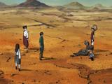 Naruto Shippūden - Episódio 399: Sobrevivência no Deserto Infernal