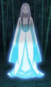 Kaguya chega no Planeta Terra