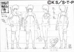 Diseño Kakashi Apariencia ANBU adulto por Pierrot 1