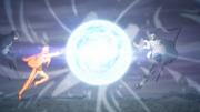Isshiki contra Naruto y Sasuke