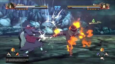 Madara vs Gai combate torneo wikia
