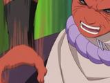 Puño Arhat Palma de Presión Anime