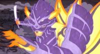 Tronido Huracán Golpe de Espada de Atuendo Majestuoso Anime 1
