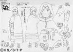 Diseño de Naruto la Película ¡El Rescate de la Princesa de la Nieve! por Pierrot