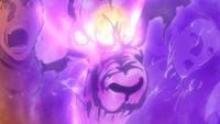Hinata e Naruto usando um ataque combinado